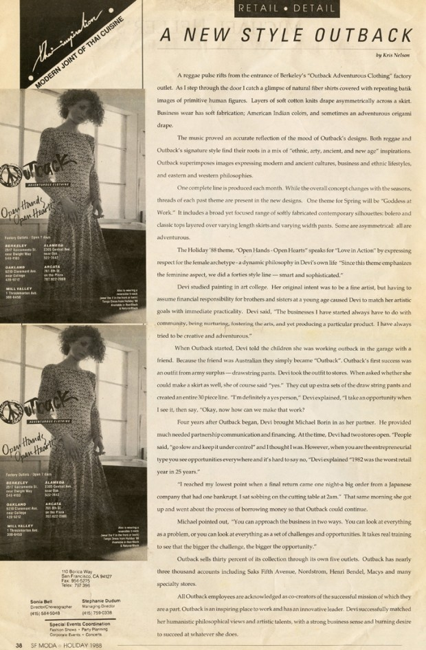 SF Moda November 1988