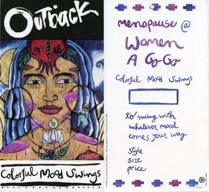Colorful Mood Swings • Menopause Women A Go-Go