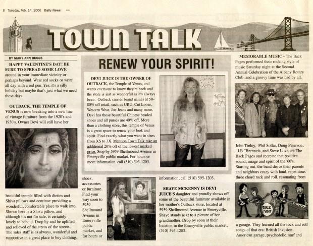 Daily News February 2006