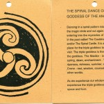 The Spiral Dance of the Triple Goddess